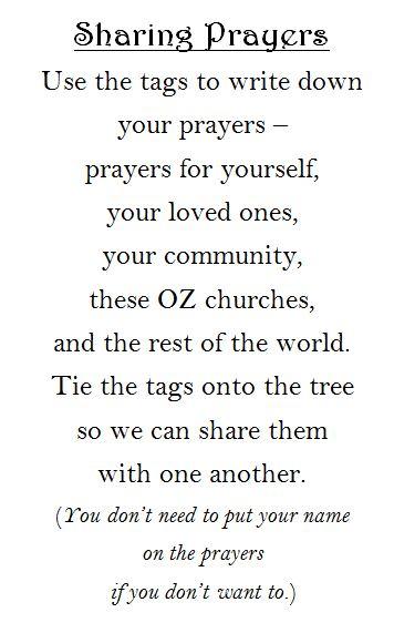 Tags prayer station