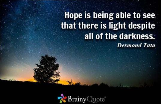 Hope Tutu quote
