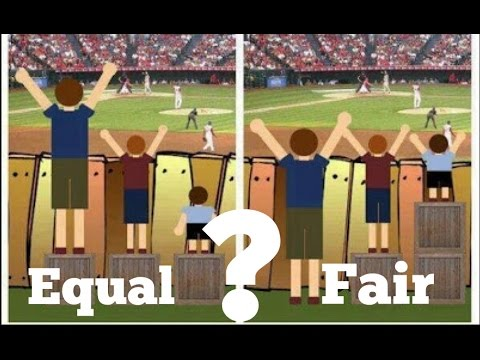 equal vs fair