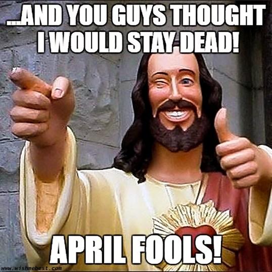 Easter April Fools