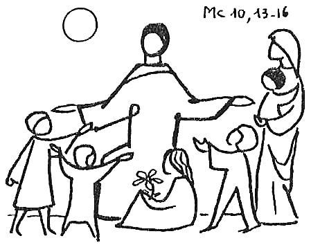 Jesus and children 2